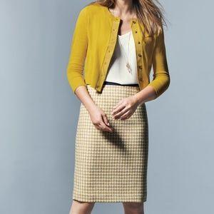 NWT Boden British Tweed Pencil Skirt